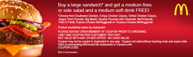 Mcdvoice coupon code